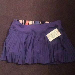 Lululemon Pleat To Street Skirt size 8